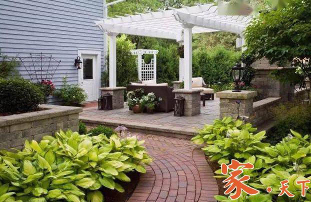 纽约庭院设计-法拉盛庭院设计