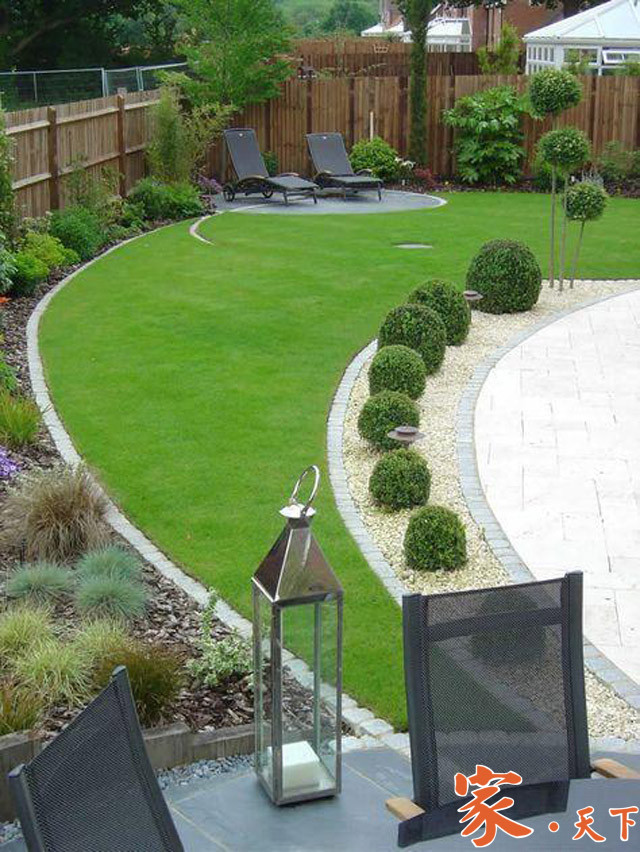 草坪,庭院草坪,人工草坪,庭院设计,园林绿化,景观设计,景观花园,庭院种植,小庭院造景,装修设计