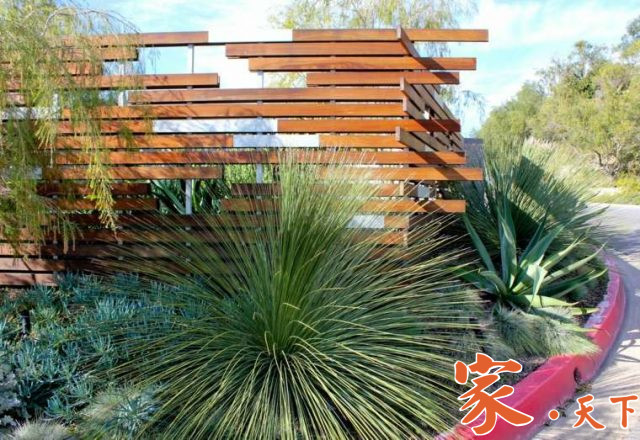 庭院围墙设计,花园围墙,庭院围栏,景观花园,庭院改造,室外装修,庭院花园设计,装修公司,装修施工, 私人花园