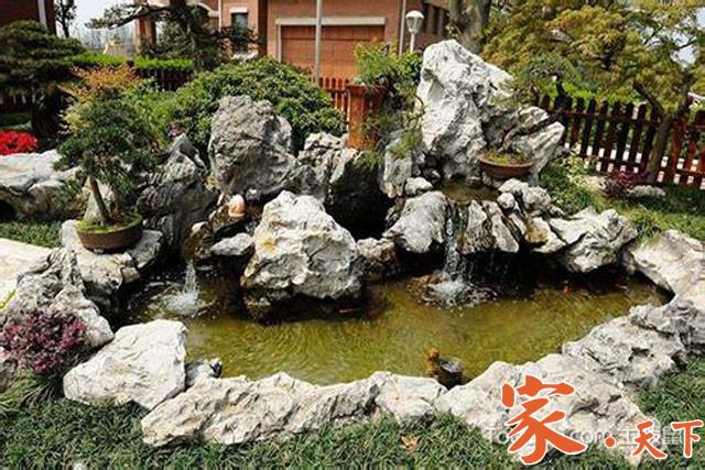 庭院设计,庭院装修,假山喷泉,别墅装修,假山鱼池,美国花园设计,美国前院设计,假山制作,假山施工,假山设计