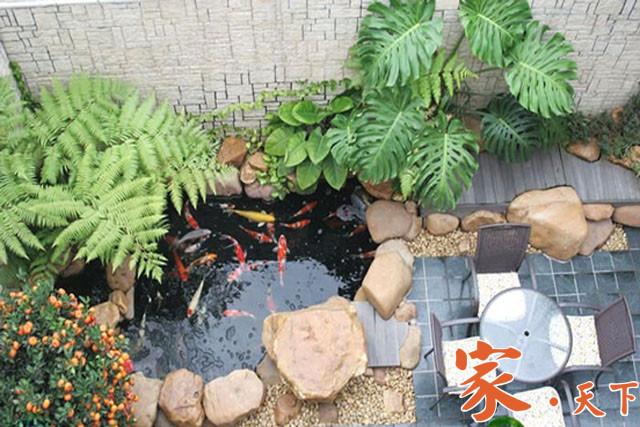 美国花园设计,假山水景,花园喷泉,人工瀑布,家庭泳池,室外设计,庭院装修,假山鱼池,别墅花园,豪宅装修