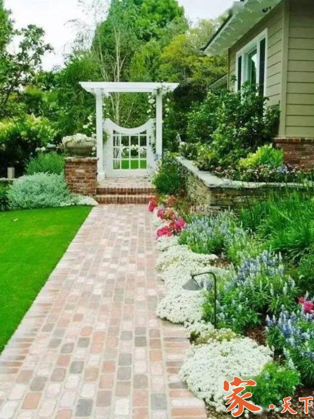庭院设计,庭院地砖,后院装修,后院铺砖,后院地砖,后院铺水泥,后院铺石子,美国庭院设计,装修公司,室外装修
