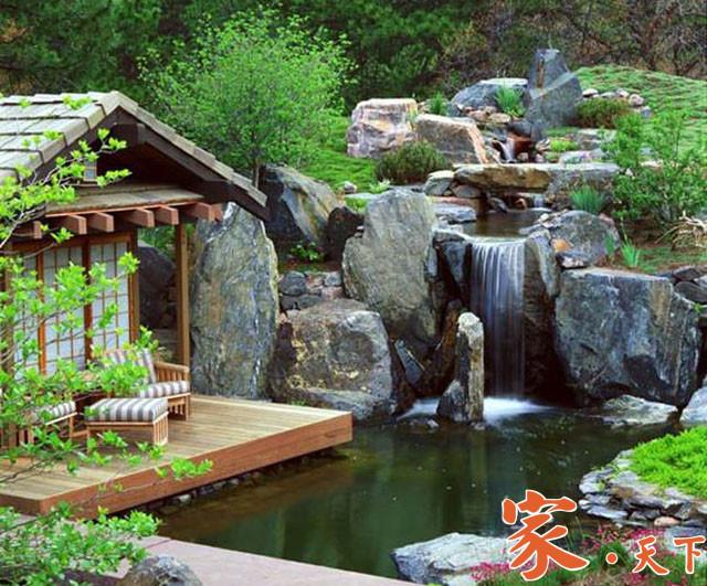 庭院设计,日式庭院,小花园设计,户外花园设计,庭院花园,装修设计,私家花园,室外装修,庭院规划,花园设计
