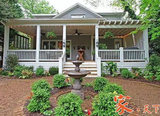 美式庭院,美国庭院设计,美国花园设计,美式庭院风格,美式田园风格,美式简约风格,设计风格,庭院设计,室外装修,庭院景观