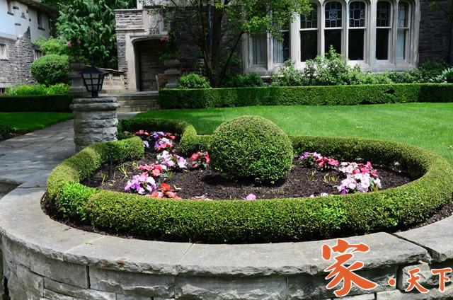 庭院花圃设计,花圃设计,庭院园艺设计,美国花园设计,别墅花园,花园设计,私家花园,花园改造,庭院绿植